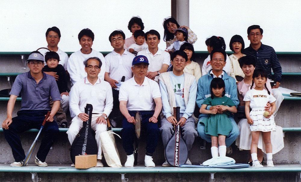テニス参加者写真