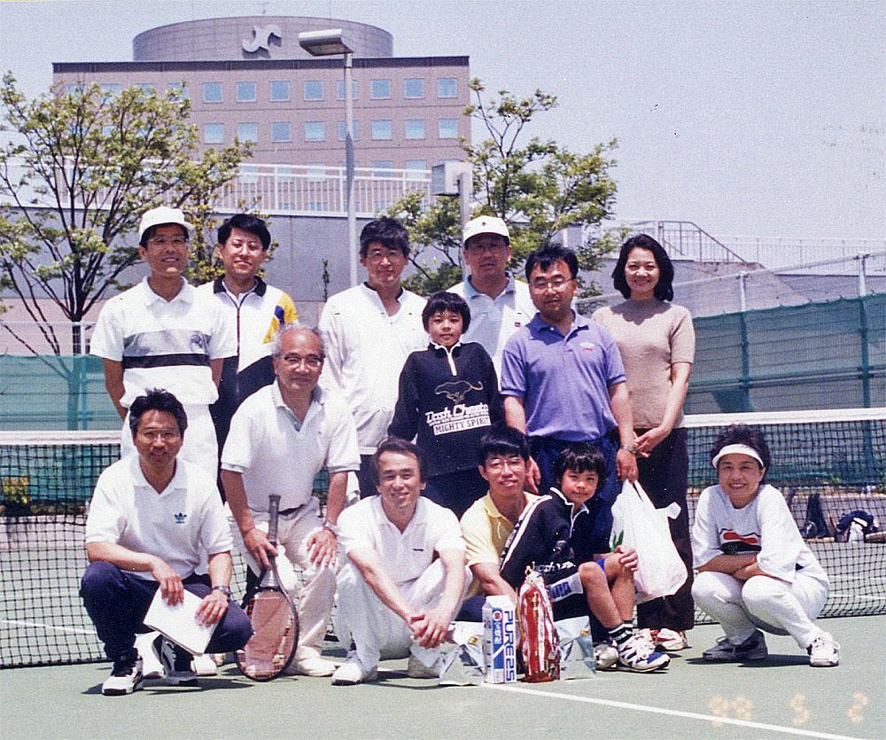 テニス集合写真1